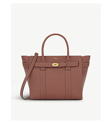 MULBERRY Bayswater small tote (Antique+pink