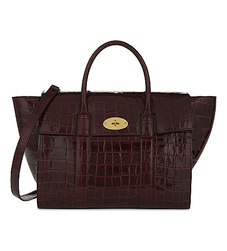 MULBERRY Bayswater bag (Burgundy