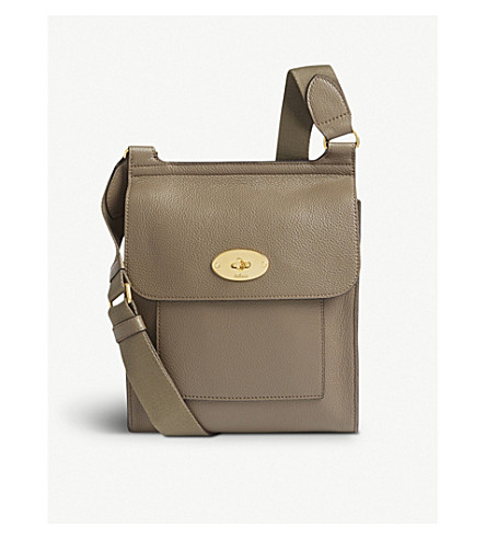 MULBERRY Antony leather shoulder bag (Clay