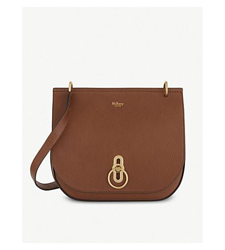 MULBERRY Amberley grained leather cross-body bag (Oak