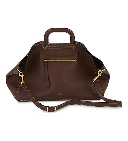 MULBERRY Brimley leather tote (Tan