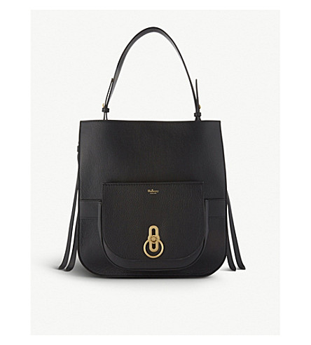 Amberley leather shoulder and cross-body bag set