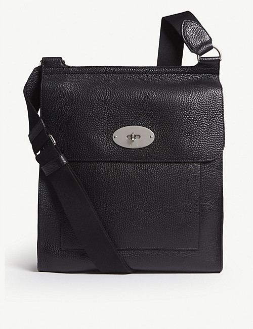 fd9d2b2ba8 MULBERRY - Antony large grained leather messenger