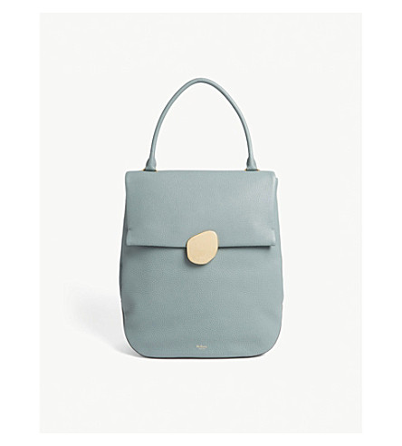 d4b6a4a354ea MULBERRY - Kemble grained leather tote bag