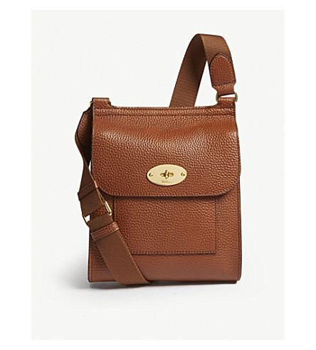 1ea6650a75d4 ... MULBERRY Antony small leather cross-body bag (Oak. PreviousNext