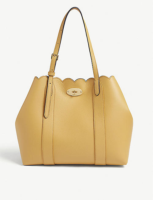 bf7f144e1861 MULBERRY Bayswater Scalloped Tote Bag