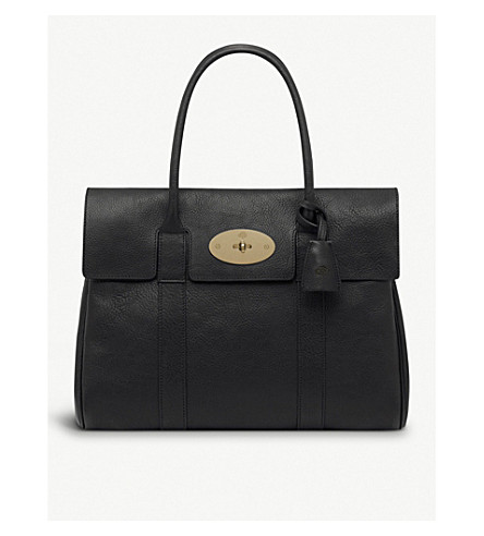MULBERRY Bayswater leather bag (Black
