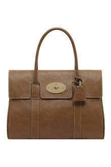 MULBERRY Bayswater natural leather handbag