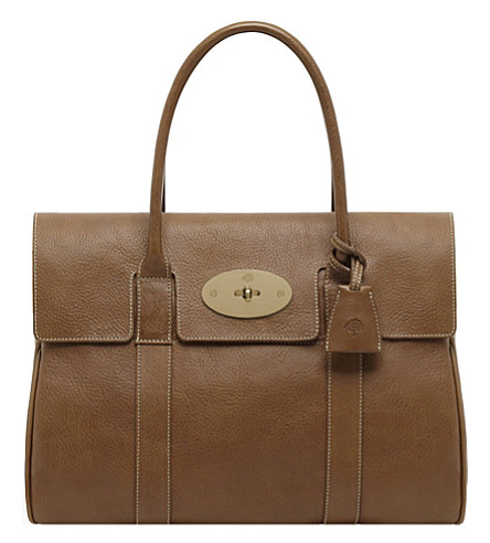 MULBERRY Bayswater leather bag (Oak