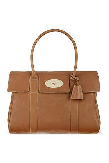 MULBERRY Bayswater tanned leather bag
