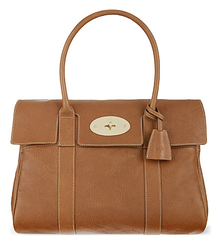 MULBERRY Bayswater tote (Oak-soft gold