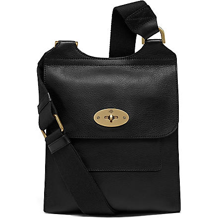 MULBERRY Antony small messenger bag (Black