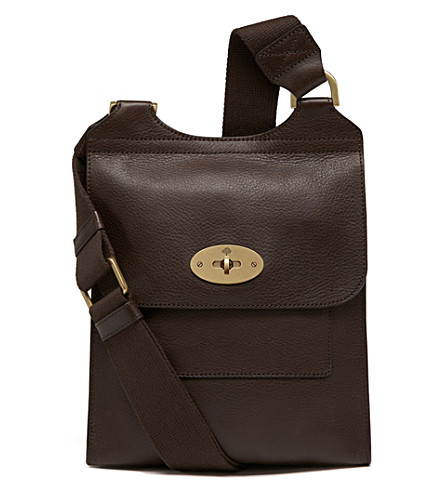 MULBERRY Antony small messenger (Chocolate