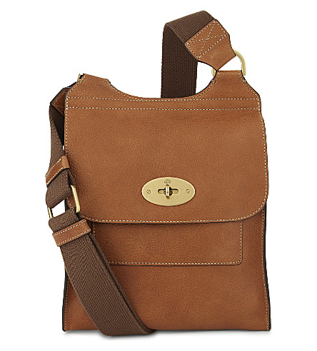 MULBERRY Antony small messenger bag (Oak