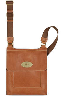 MULBERRY Antony natural leather messenger bag