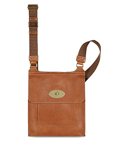 MULBERRY Antony messenger (Oak
