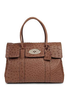 MULBERRY Bayswater ostrich leather handbag