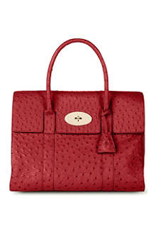 MULBERRY Bayswater ostrich-leather tote