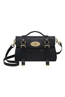 MULBERRY Alexa polished buffalo leather satchel