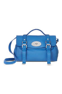 MULBERRY Alexa polished buffalo leather handbag