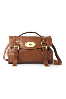 MULBERRY Alexa buffalo leather satchel