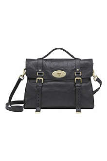 MULBERRY Alexa oversized buffalo leather satchel