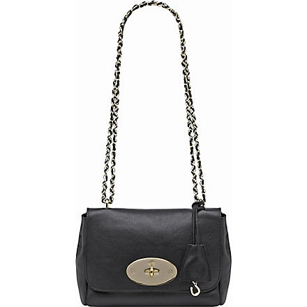 MULBERRY Lily natural leather shoulder bag (Black