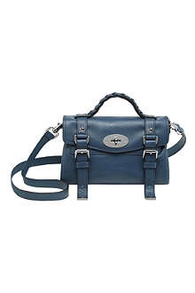 MULBERRY Alexa mini buffalo leather satchel