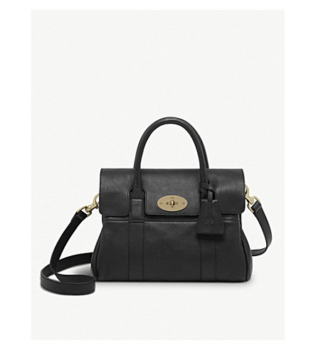 MULBERRY Small Bayswater satchel (Black