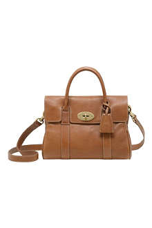 MULBERRY Bayswater natural leather small satchel
