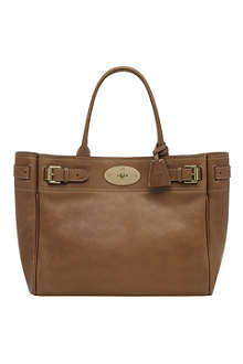 MULBERRY Bayswater natural leather tote