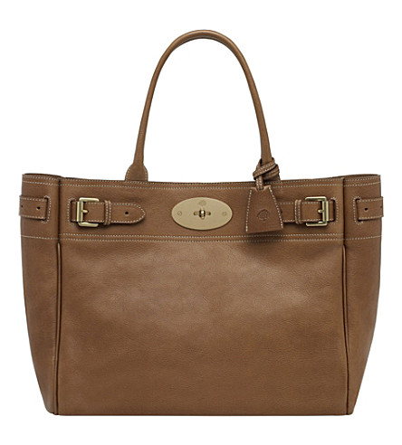 MULBERRY Bayswater tote (Oak