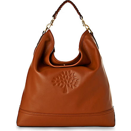 MULBERRY Effie spongy pebbled leather hobo (Oak