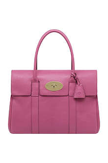 MULBERRY Bayswater glossy leather handbag