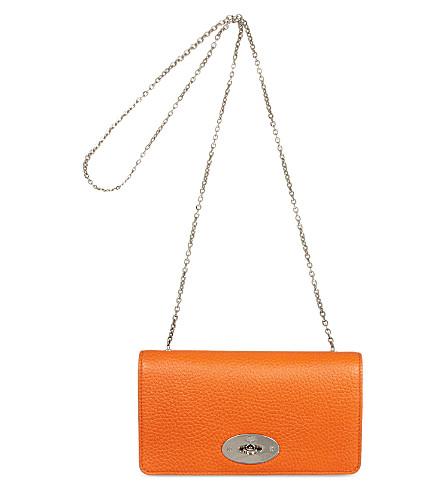 MULBERRY Bayswater clutch (Orange