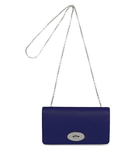 MULBERRY Bayswater clutch wallet (Indigo
