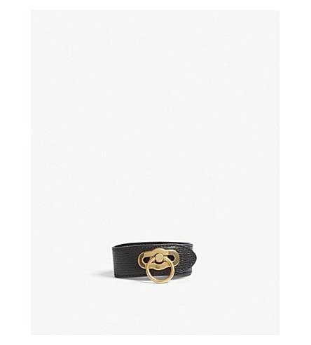 Amberley leather bracelet