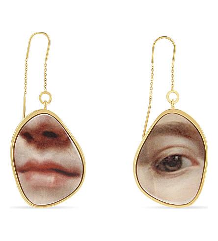 MULBERRY Portrait earrings (Multi