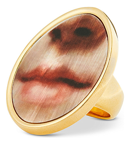 MULBERRY Portrait ring (Multi
