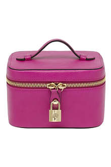 MULBERRY Glossy leather jewellery case
