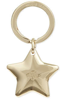 MULBERRY Star keyring