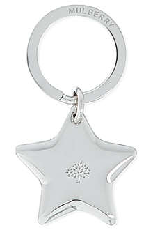 MULBERRY Star key ring