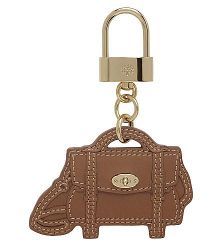 MULBERRY Satchel bag charm (Oak