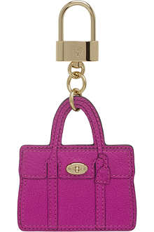 MULBERRY Bayswater leather bag charm
