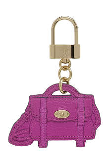 MULBERRY Alexa bag leather key ring