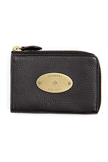 MULBERRY Slim leather coin purse