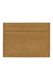 MULBERRY Leather credit card slip