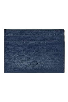 MULBERRY Leather credit card