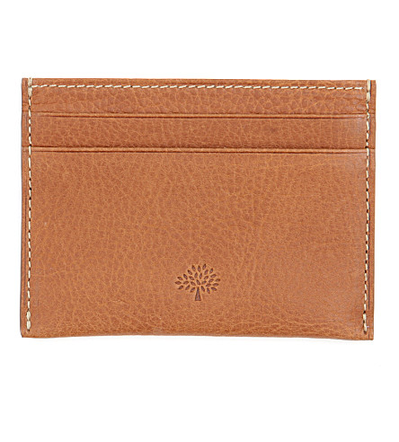 MULBERRY Credit card slip (Oak