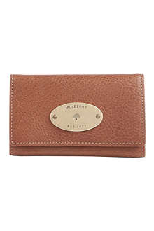 MULBERRY Functional iPhone 4 leather wallet
